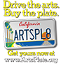 image link to California Arts License Plates